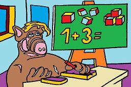 Alf a počty