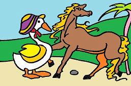 Koník a hus