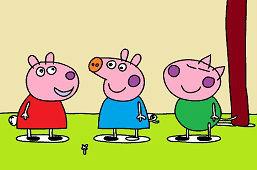 Peppa a kamaráti