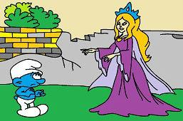 Šmoula a princezna