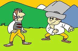 Kubko a Maťko idú zápasiť