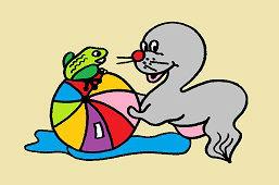 Tuleň a žabka