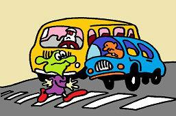 Pozor, prechod pre chodcov !