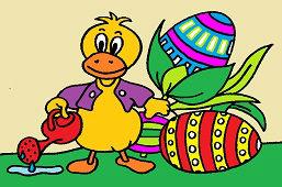 Káčerik a veľkonočné vajíčka