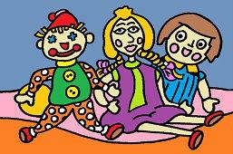 Plátené bábiky