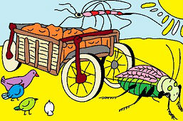 Kobylka a vozík