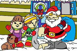 Santa Clause a deti