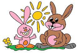 Zajkovia a slniečko