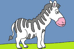 Pruhovaná zebra