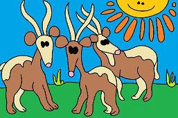 Africké antilopy