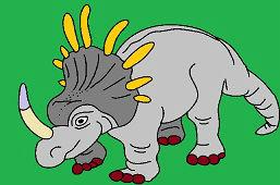 Styracosaurus dinosaurus
