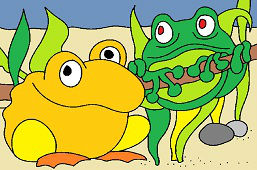 Žabky susedky