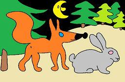 Líška a zajac