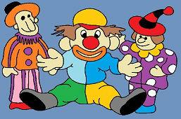 Traja klauni