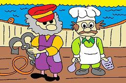 Námorník a kuchár