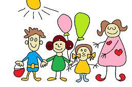 Deti s učiteľkou