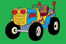 Domáci traktor