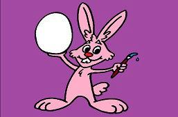 Zajačik a vajíčko