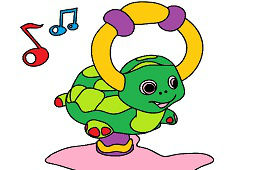 Nafukovacia korytnačka