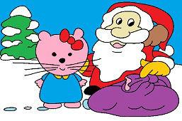 Kitty a Santa Clause