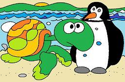 Korytnačka Žofka a tučniak