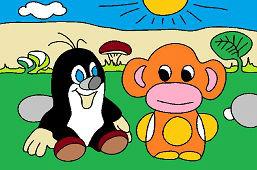Krtko a opička