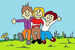 Traja kamaráti