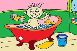 Detský kúpeľ
