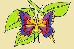 Motýľ vidlochvost