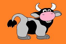 Usmiata kravička