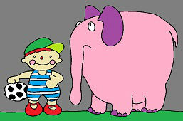 Janko a smutný sloník