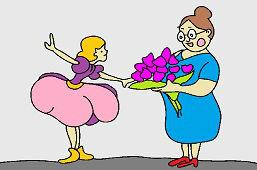 Kvety pre mamičku