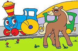 Veselá lokomotíva