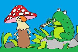 Žabka s píšťalkou