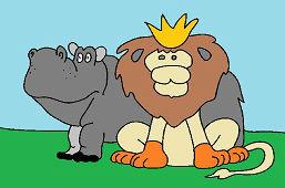 Kráľ zvierat a hroch