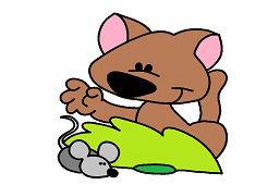 Lišiak a myška