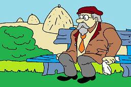 Starček na lavičke