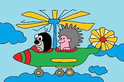 Krtko a vrtuľník