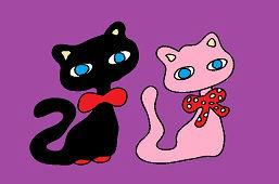 Kocúrik a mačička