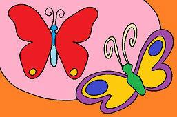 Hravé motýle