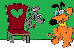 Myška a psík