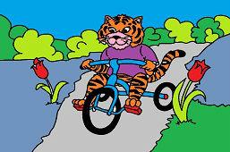 Tiger na trojkolke