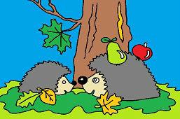 Dvaja ježkovia