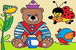 Medvedík-námorník