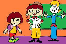 Dora v škole