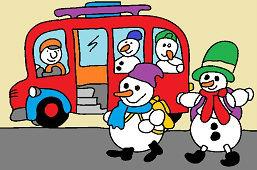 Autobus pre snehuliakov