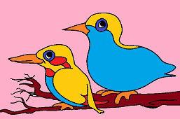 Dva vtáky