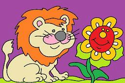 Lev a slnečnica