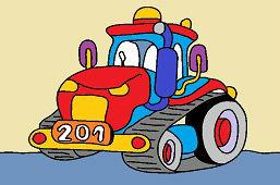 Pásový traktor