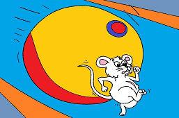 Bež, myška, bež!